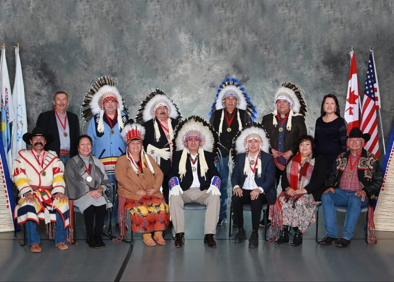 Blood Tribe Chief and Council