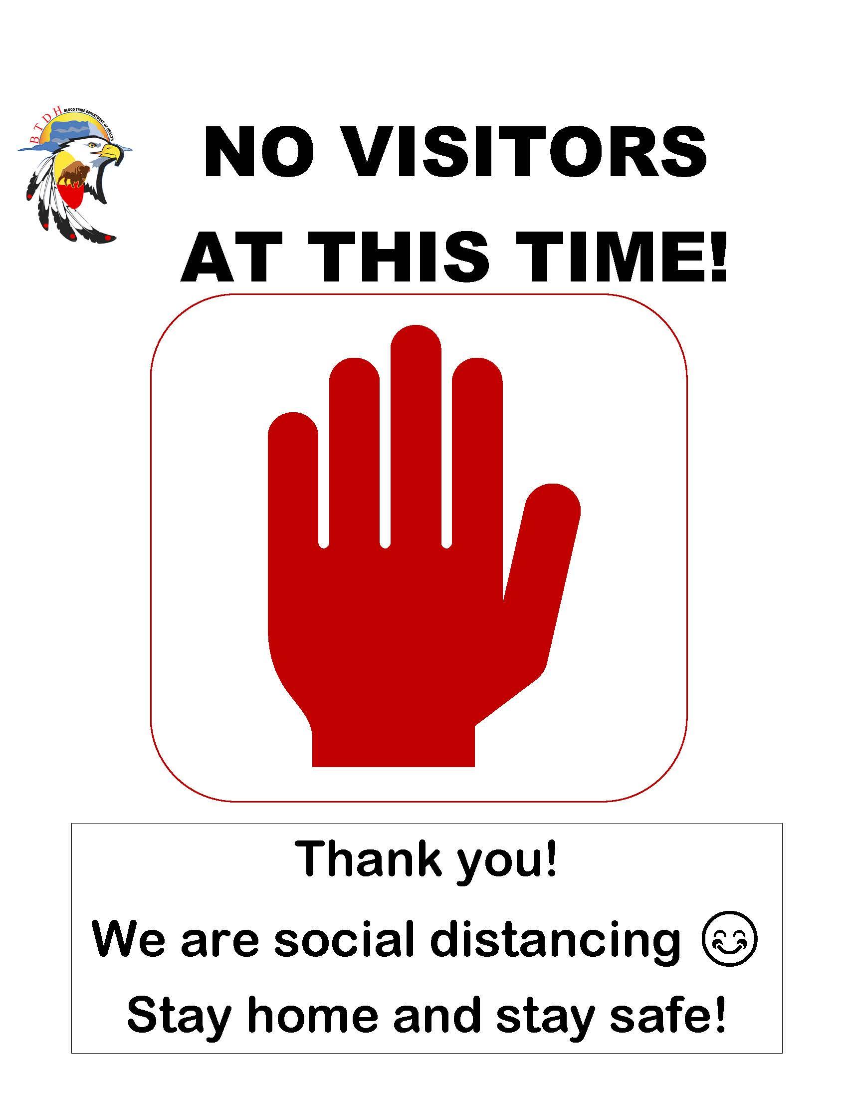 No Visitors - Poster