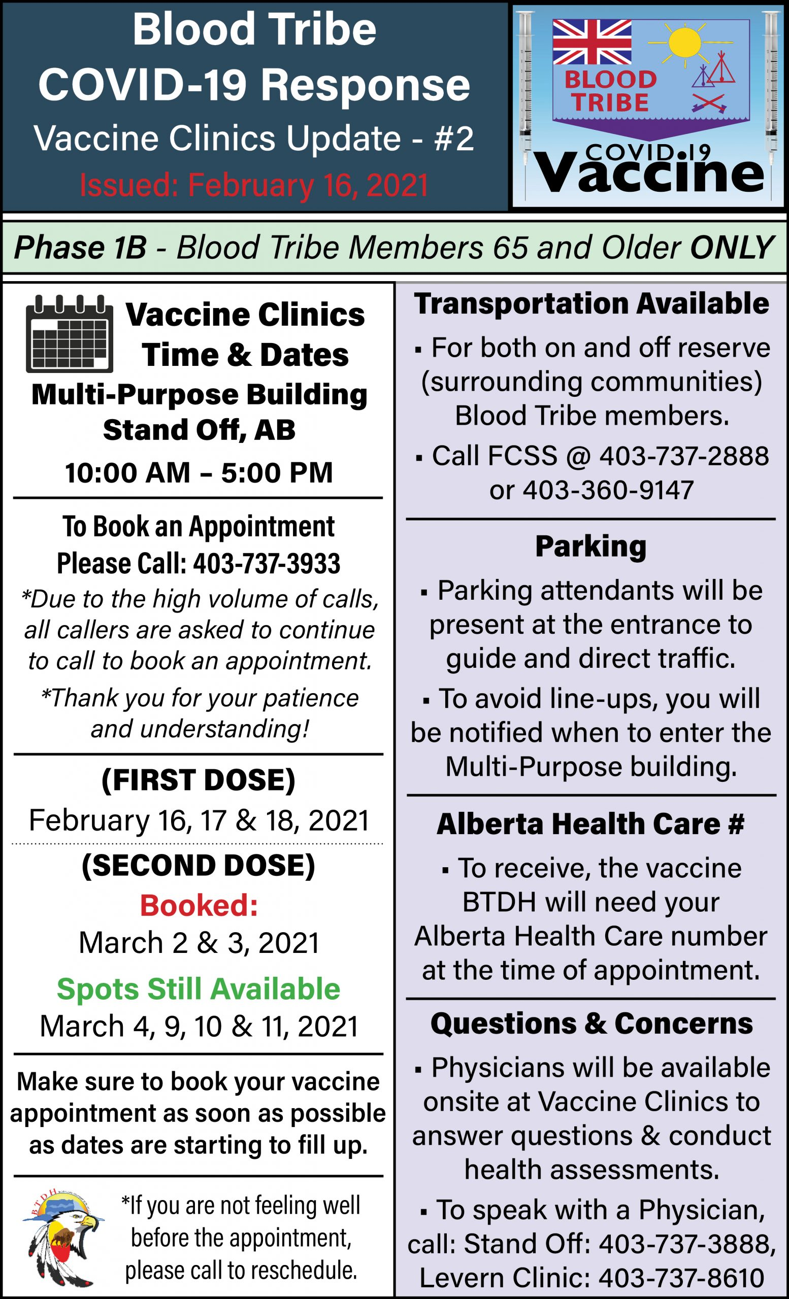 COVID-19 Vaccine Clinic Update - Page 2