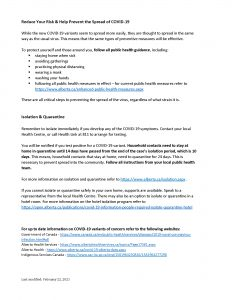 COVID-19 Variant Information - Page 2