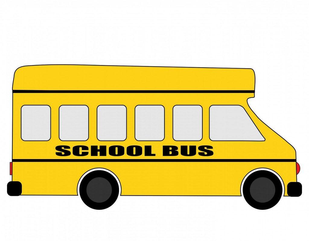 school bus, schoolbus, bus