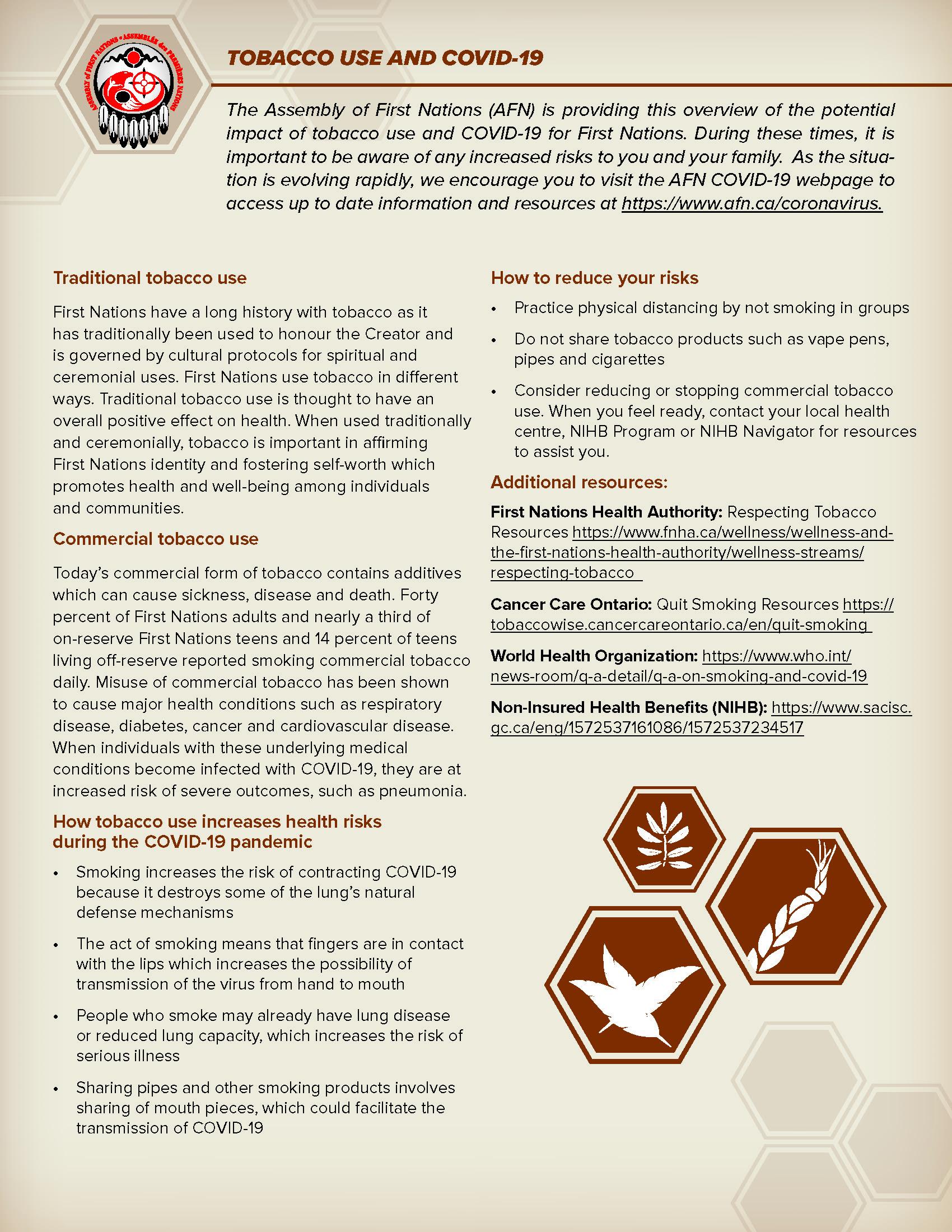 Tobacco Use and COVID-19