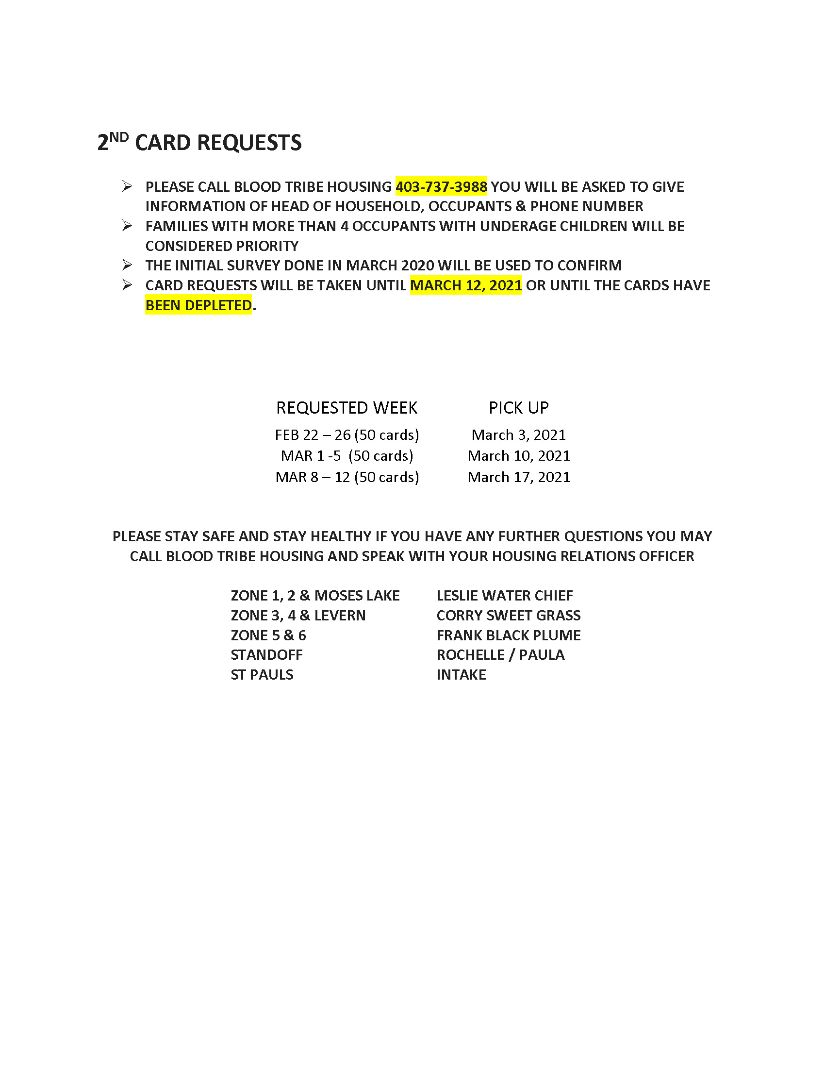 On-Reserve Gift Card Update - (Mar. 5, 2021) - Page 2