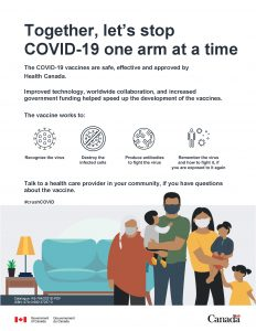 COVID-19 Vaccine Safety - Poster