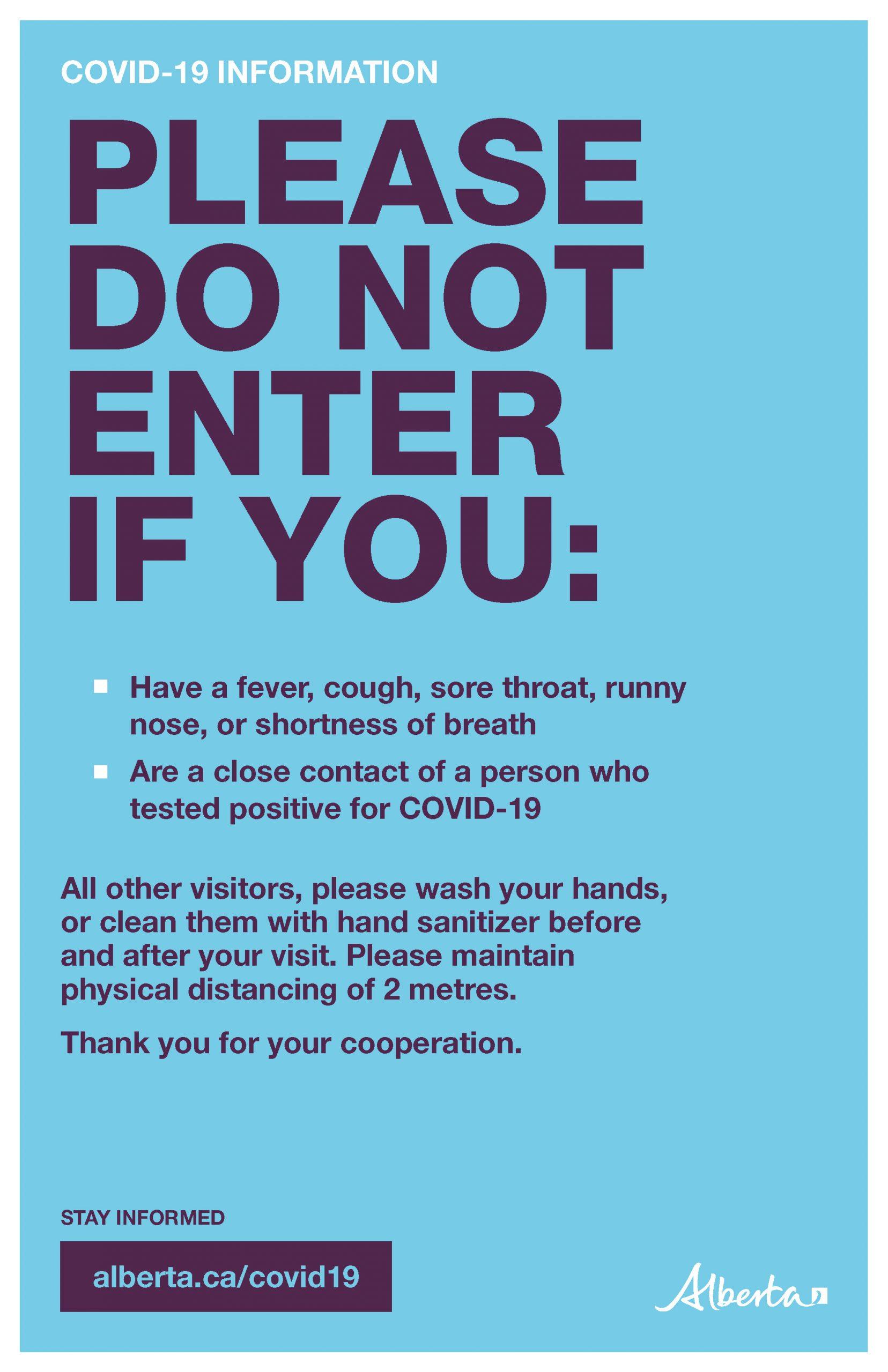 Do Not Enter - Poster