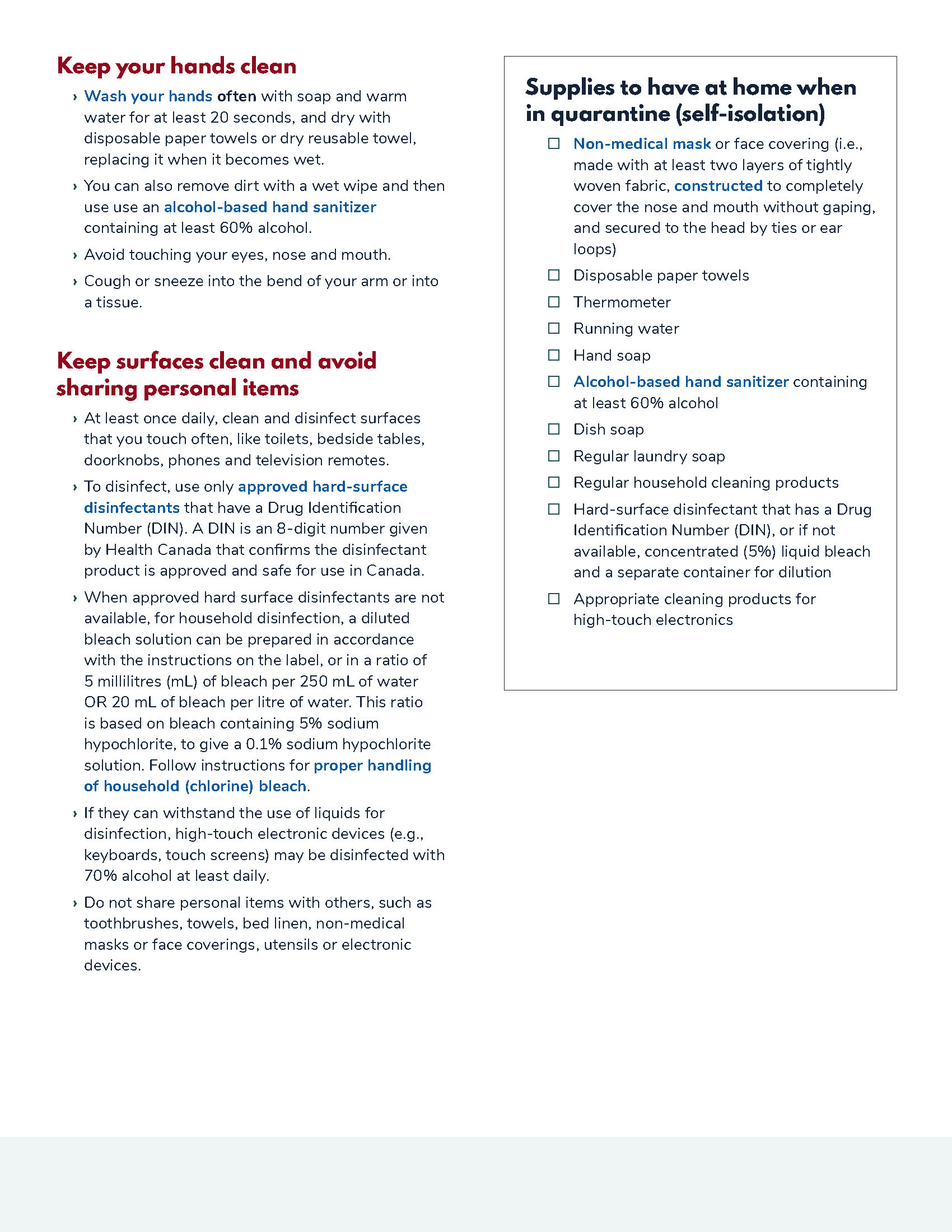 How to Isolate if Been Exposed to COVID-19 - Page 3