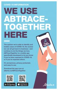 ABTRACE App - Poster