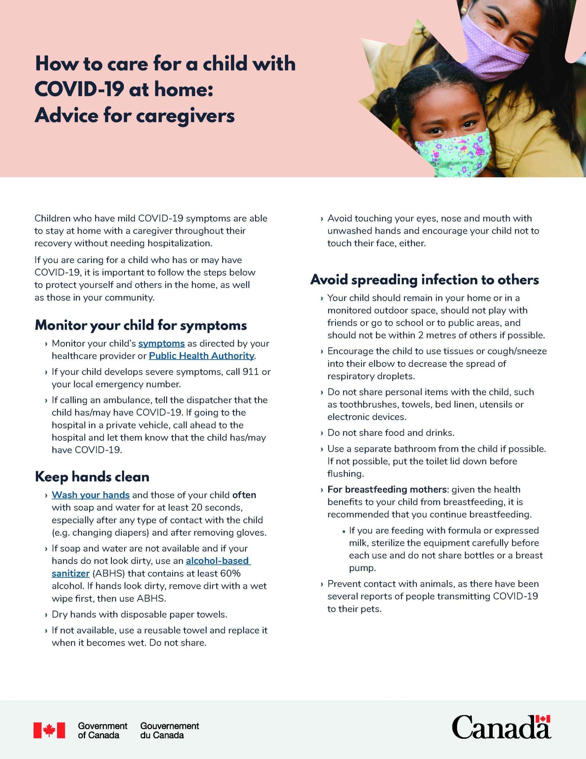 Advice for Mothers During COVID-19 - Page 1