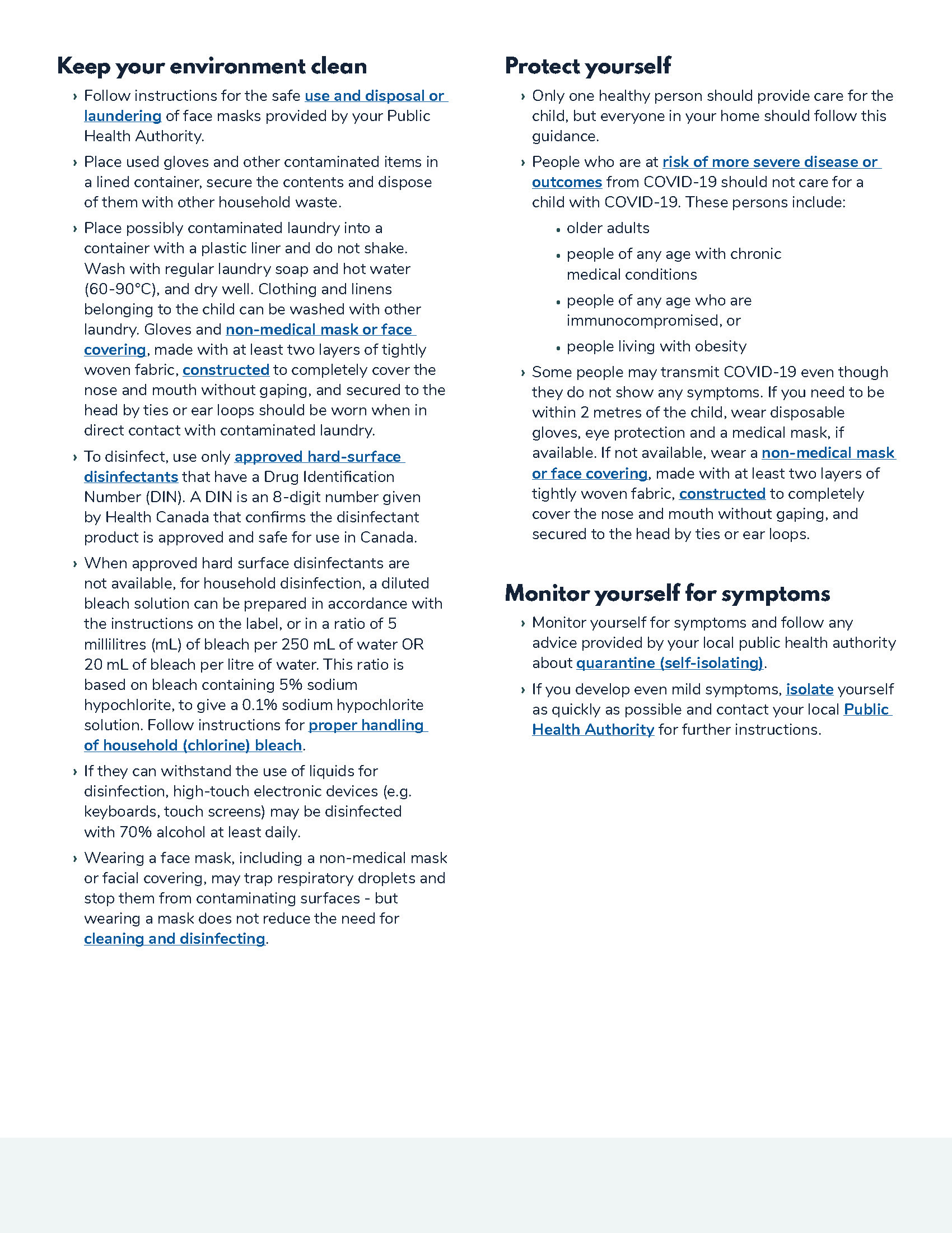 Advice for Mothers During COVID-19 - Page 2