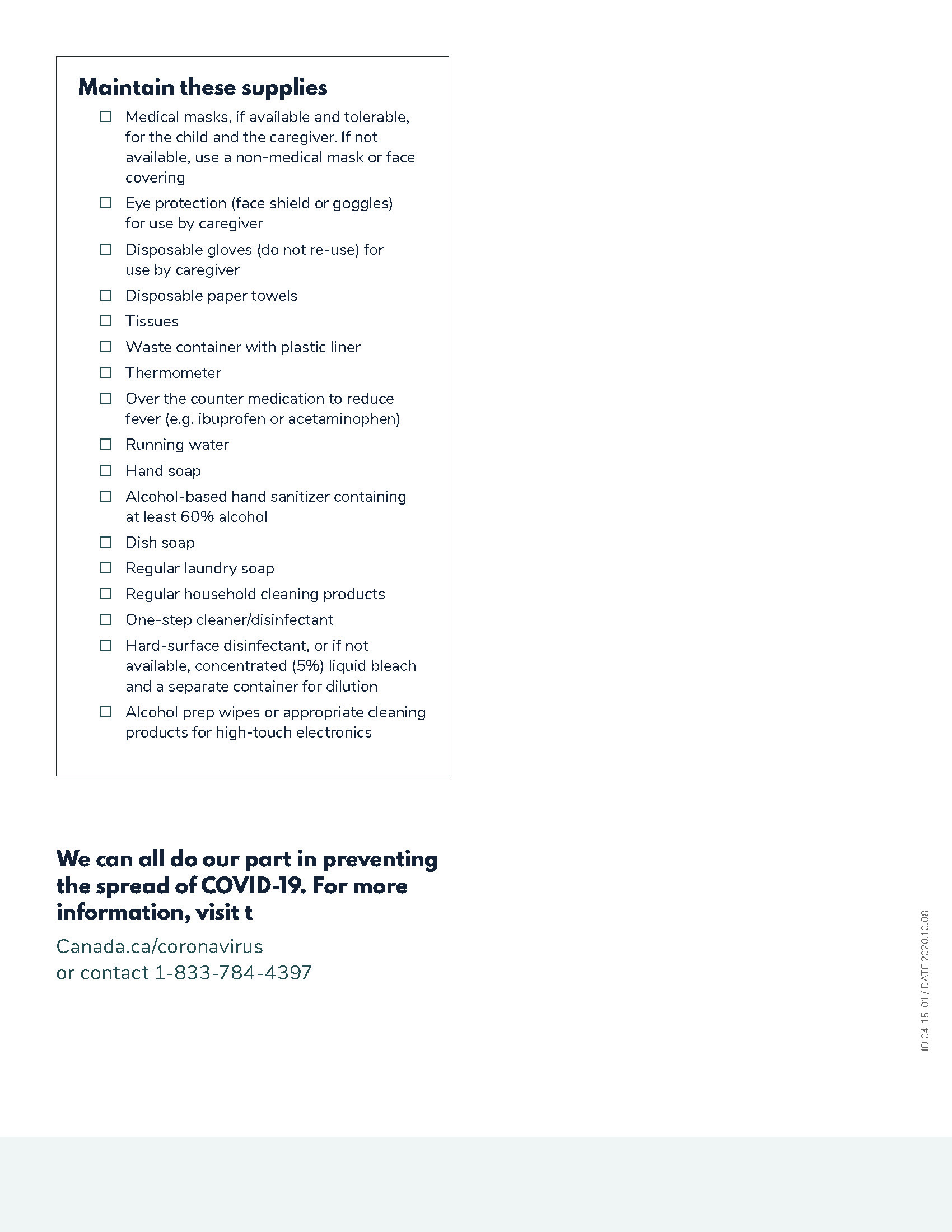 Care for a Child with COVID-19 - Page 3