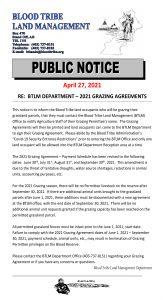 BTLM - 2021 Grazing Agreement