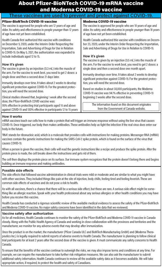 Blood Tribe COVID-19 Vaccine Update - Vaccine Hesitancy
