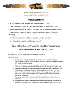 Bus Co-Op Notice - (Aug. 27) - Page 1