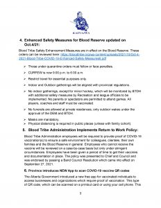 COVID-19 Response Bulletin - October 15, 2021 - (Page 3)